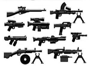 BRICKARMS - Lot de 10 armes et accessoires pour figurines LEGO®