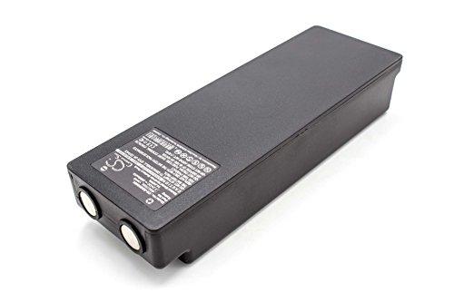 vhbw NiMH batteria 2000mAh (7.2V) per telecomando per gru remote control Palfinger Scanreco 590, 592, 790, 960, BS590, Cifa, EA2512, EEA2512, Effer