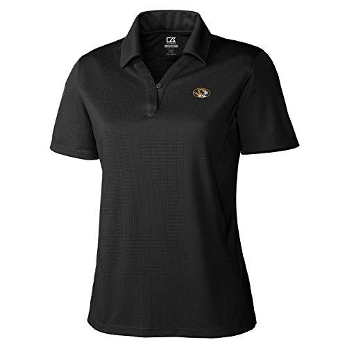 NCAA Damen CB Dry Tec Genre Polo, damen, Ncaa Women's Genre Polo Tee, schwarz (Jacquard-polo-tee)