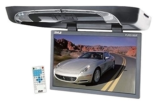 Pyle PLRD195IF Auto TFT-Monitor - Auto TFT-Monitore (1440 x 900 Pixel, Schwarz, MMC, SD, CD, CD-R, CD-RW, DVD, MP3)