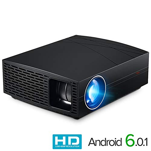 AINGOL HD Videoprojektor 1080P 3000 Lumen LCD LED Filme Gaming Projektoren Heimkino Theater TFT Display HDMI USB Widescreen für Hinterhof-Party-Filme Full-hd-widescreen-lcd