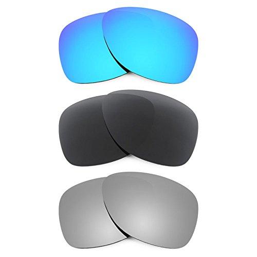 Revant Ersatzlinsen für Oakley Dispatch 2 Polarisiert 3 Paar Kombipack K015