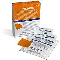inadine dressing (iodine) 5cmx5cm new box of 25 sterile dressings preisvergleich bei billige-tabletten.eu