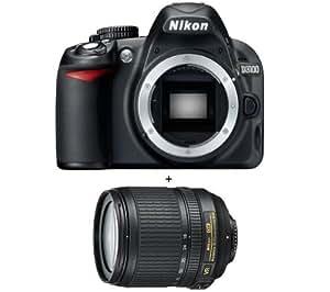 Nikon D3100 + AF-S DX NIKKOR 18-105mm VR Appareil Photo Numérique Compact 14.2 Mpix Noir