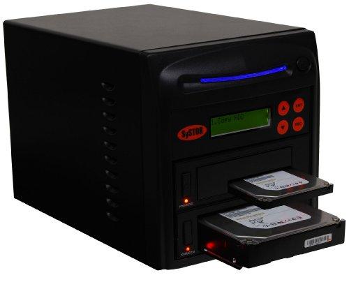 """Systor 1-1 SATA 2.5""""&3.5"""" Porta a Doppio/Sostituzione a caldo Hard Disk Drive (HDD/SSD) Duplicatore/Sanitizer"""