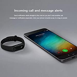 Xiaomi Mi Band 2 Fitness Trackers Fitnessarmband Sleeptracker Smartwatch ios Android