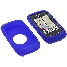 Funda para Garmin Edge 1000 protectora silicona carcasa protección azul