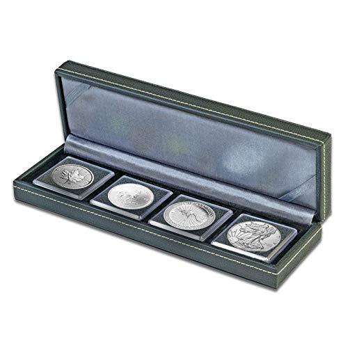 Silbermünzen im Set - verschiedene Silbermünzen im Geschenkset (4x 1oz 2019 Etui) -