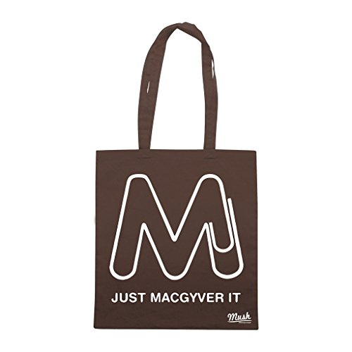 Borsa JUST MACGYVER IT - Marrone - FILM by Mush Dress Your Style