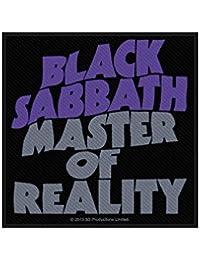 Black Sabbath parche–Master Of Reality–Black Sabbath Patch–tejida & licencia oficial..