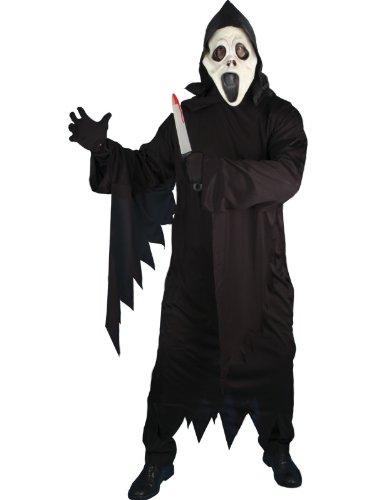 Screamers Kostüm - Screamer Ghost Fancy Dress Costume Mens Size 38-40 S (Halloween)