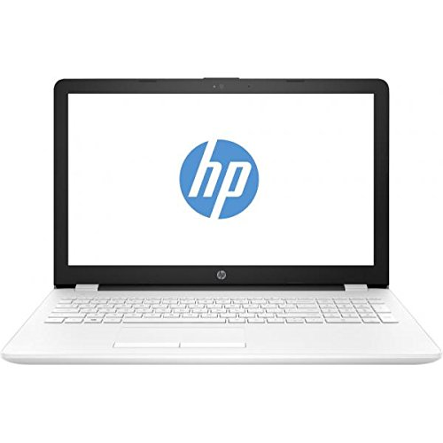 HP 15-BS510NS - Ordenador portátil DE 15.6' (Wi-Fi y Bluetooth 4.0, Intel Celeron 1.6 GHz, Memoria Interna de 1 TB, 8 GB de RAM, Windows 10 Home) Color Blanco Nieve, Teclado QWERTY español