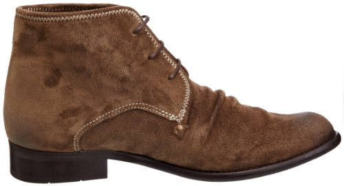 Fly London Watt Leather Suede, Stivali uomo Marrone (Sabbia)