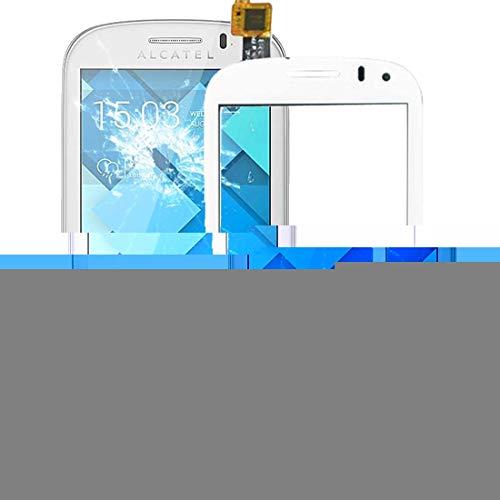 ERSATZTEILEFORHANDYS Ersatzteile for Handy Touch Panel für Alcatel One Touch POP C3 / OT-4033 / 4033D / 4033X (Schwarz) (Farbe : Weiß)
