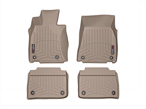 Preisvergleich Produktbild Weathertech 45514-1-2 Auto Fußmatten für LS 2013 - 2017