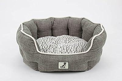 All Pet Solutions Alfie Range - Fleece Lined Warm Luxury Dog Bed - Washable