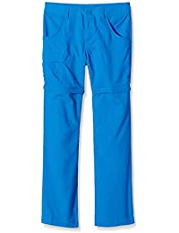 Columbia Boy 's Silver Ridge III Convertible pantalones, Niños, Silver Ridge III, Super Blue, mediano