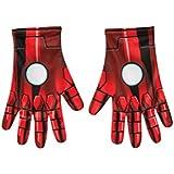 Rubie 's Offizielles Marvel Iron Man Handschuhe Einheitsgröße für Erwachsene