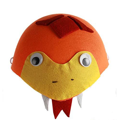 Toruiwa Halloween Mütze Unisex Süßes Tier Kostüm Hut Kinder für Halloween Geburtstag Cosplay Party Karneval Fasching 19.5 * 8.5cm (Schlange) (Schlange Hut Kostüm)