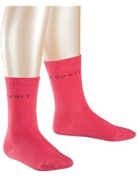 ESPRIT KIDS Mädchen Socken Foot Logo, 2er Pack
