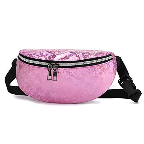 (Diagonalpaket Frauen Tasche Brusttasche Damen Hüfttasche Eine Schulter Studenten Eine Schulter Outdoor Sports Reißverschluss Umhängetasche Brusttasche Gürteltasche Students Münztasche Handtasche)