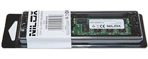 3200 Ddr2-sodimm-speicher (Nilox 1GB PC-3200-(DDR, Notebook, 200-PIN So-Dimm, 1x 1GB, Grün))