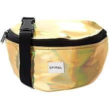 Espiral Harvard Bum Bag, Unisex, Harvard, dorado, talla única