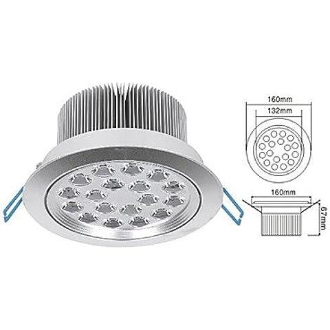 18w luz Spot LED en la fuente de luz blanca c¨¢lida