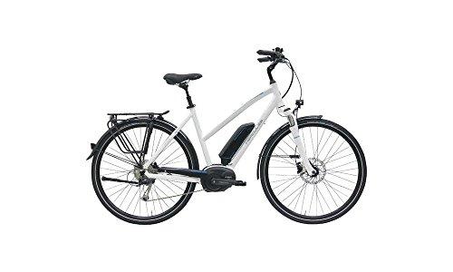 HERCULES Robert/-A 8 E Bike E-Bike Pedelec Elektrofahrrad 28″ Trapez 52cm Rahmen 400W Akku Weiß Glänzend Modell 2017