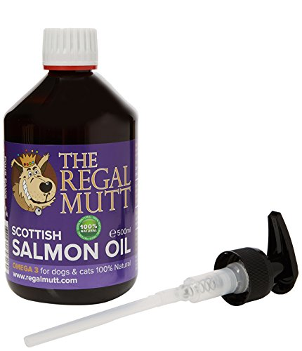 The Regal Mutt Salmon Fish Oil for Dogs