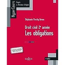 Droit civil 2e année, les obligations - 9e éd.