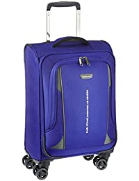 Eminent Evoque Nylon 58 cms Royal Blue Softsided Carry-On (6848 - BL)