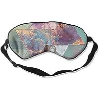 Sleep Eye Mask Colorful Space Triangle Lightweight Soft Blindfold Adjustable Head Strap Eyeshade Travel Eyepatch preisvergleich bei billige-tabletten.eu