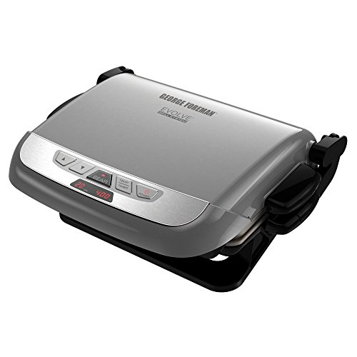 george-foreman-grp4842p-3-in-1-multi-plate-evolve-grill-grilling-and-waffle-plates-included-platinum