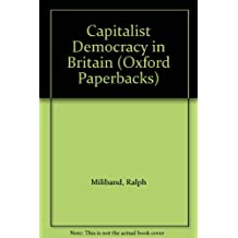 Capitalist Democracy in Britain (Oxford Paperbacks)