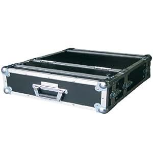 Accu Case ACF-SW/DCD2 Caisse de transport avec 2HE, pour double lecteur CD