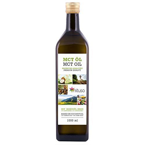 mituso MCT Öl, Premium Qualität, 1er Pack (1x 1000 g)