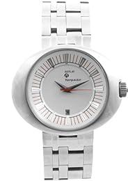 Replay RM5201BH - Reloj analógico de caballero de cuarzo con correa plateada