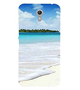 For Lenovo ZUK Z1 Beach, Blue, Water, Ocean, Printed Designer Back Case Cover By CHAPLOOS