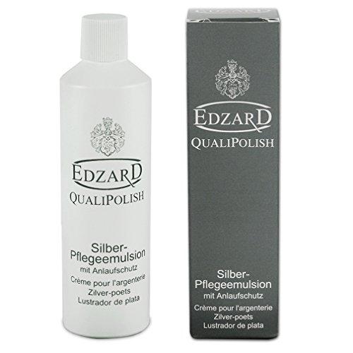 EDZARD QualiPolish® Silber-Pflegeemulsion mit Anlaufschutz, Inhalt 250 ml