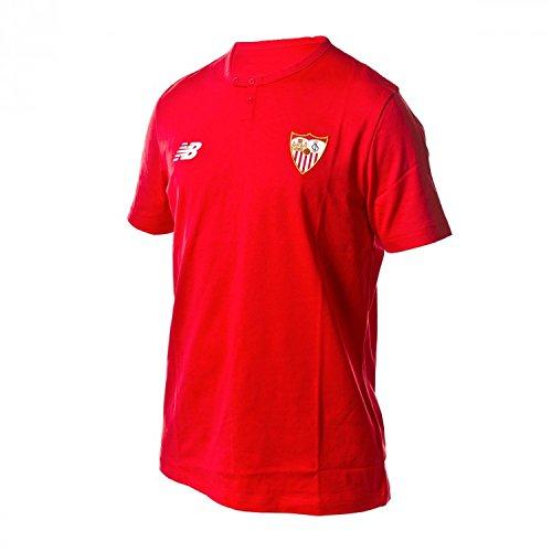 Camiseta Sevilla FC MC Algodón 2017-2018 Rojo Talla M