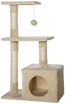 Cat Scratcher Cat Tree Activity Centre Scratching Post Sisal climbing toy
