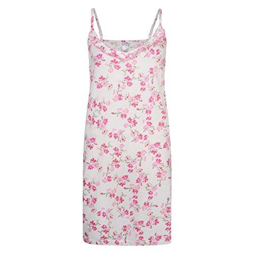 Ladies Nightie Ex Avon Sleeveless Cotton Night Dress UK 6-24