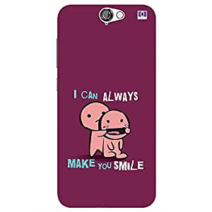 Make Your Smile - Mobile Back Case Cover For HTC One A9