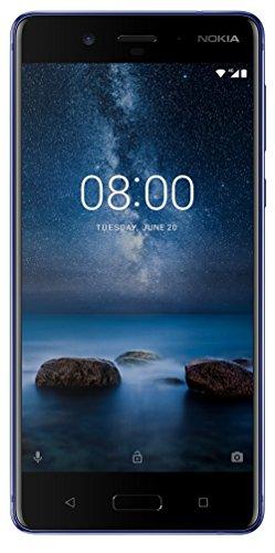 (CERTIFIED REFURBISHED) Nokia 8 (Blue, 64GB)