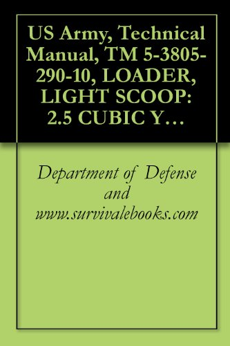 US Army, Technical Manual, TM 5-3805-290-10, LOADER, LIGHT SCOOP: 2.5 CUBIC YARD MULTIPURPOSE (MP) CLAMSHELL BUCKET, DIESEL ENGINE DRIVEN (DED), 4-WHEEL ... MODEL 924G (English Edition) - Loader Bucket