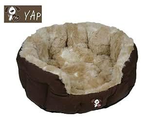 Yap Peluchi Giraffe Oval Pet Bed, 22 inch