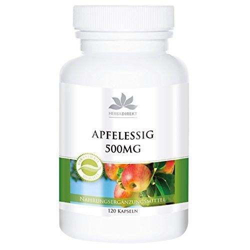 Vinagre de manzana de herba direkt – acidez 4–8% – 120 cápsulas