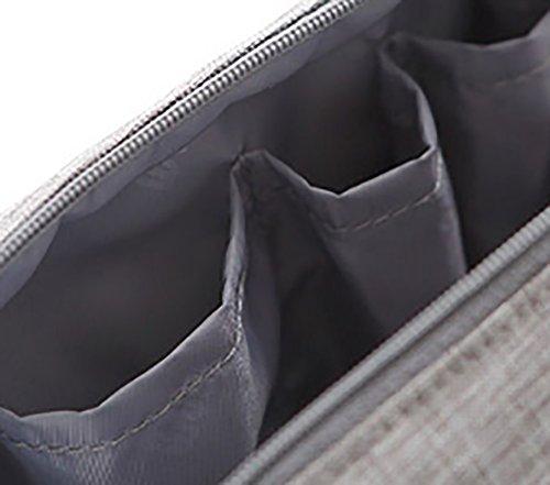 Fotos De Salida Baja Tarifa De Envío Barata En Línea CLOTHES- Pacchetto di immagazzinaggio multifunzionale dei cosmetici della borsa della lavata della cassa cosmetica portatile portatile di alta qualità portatile della signora Makeup Bag ( Colore : Ver Viola SxYQfVna9