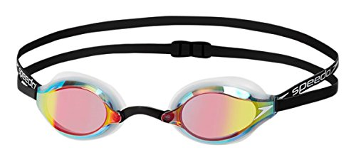 speedo-fastskin-speedsocket-2-mirror-gafas-de-natacion-unisex-adulto-blanco-white-rose-gold-talla-un